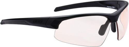 BBB Sportbrille »Impress PH BSG-58PH Sportbrille«, schwarz, schwarz
